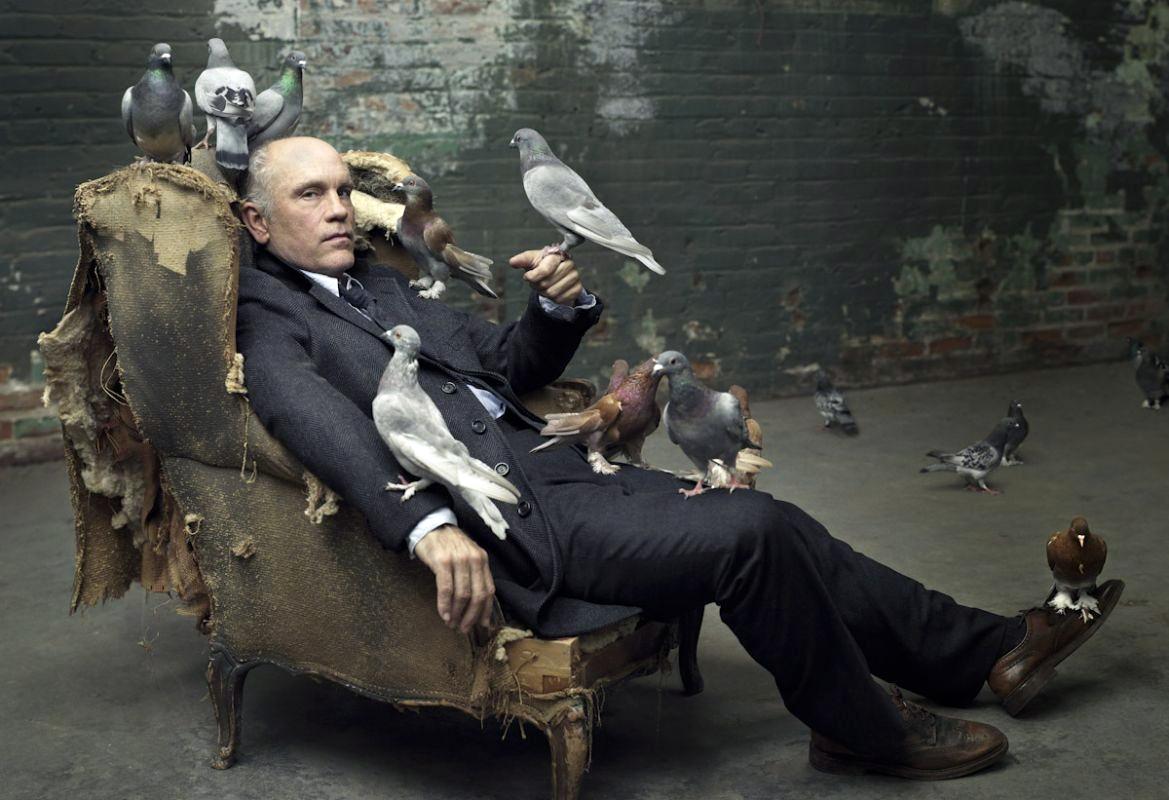 Malkovich tweed & birds