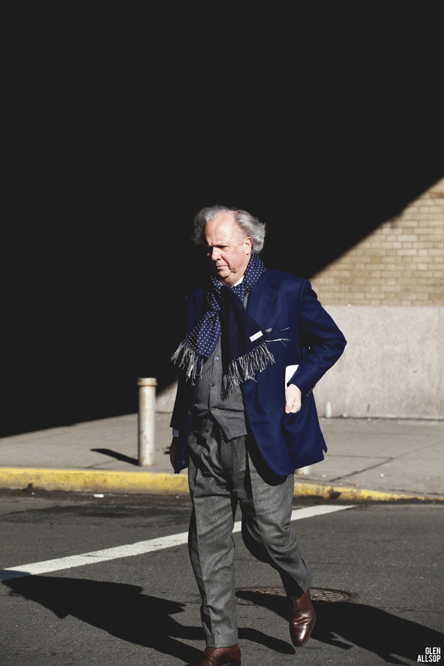 Graydon Carter and THE UNIFORM