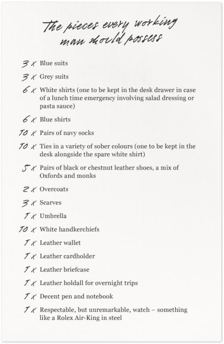 10 punten voor garderobe
