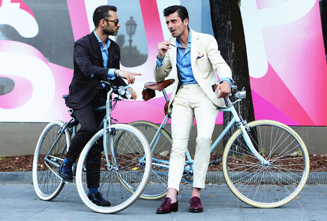Pitti by bike