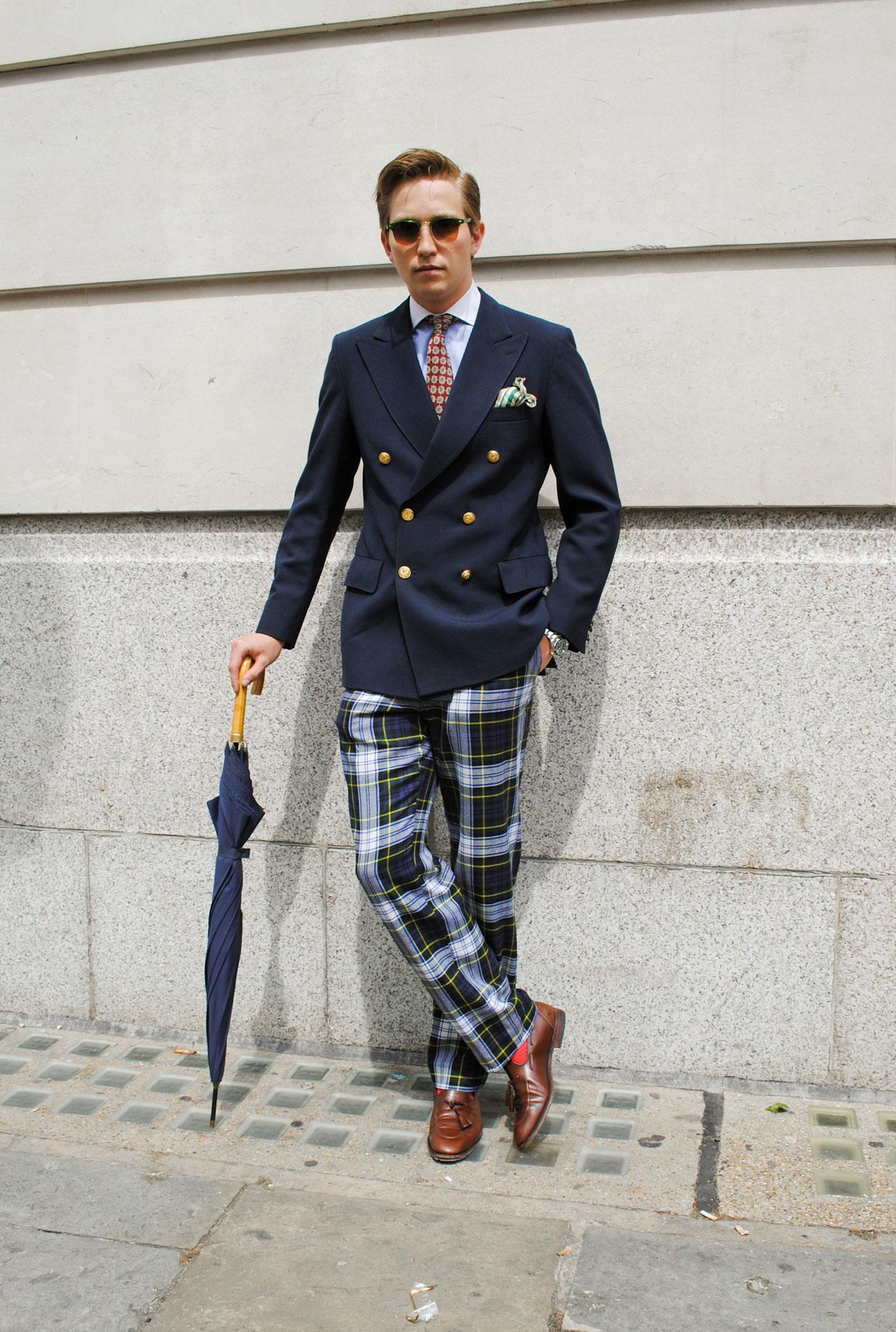 Blazer Stewart trousers