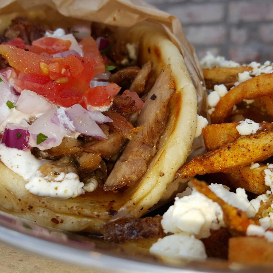 Pork Gyro & Greek Fries