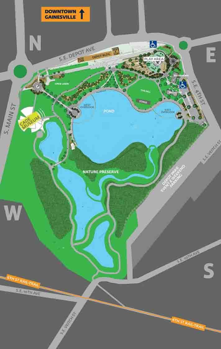 Depot Park Map