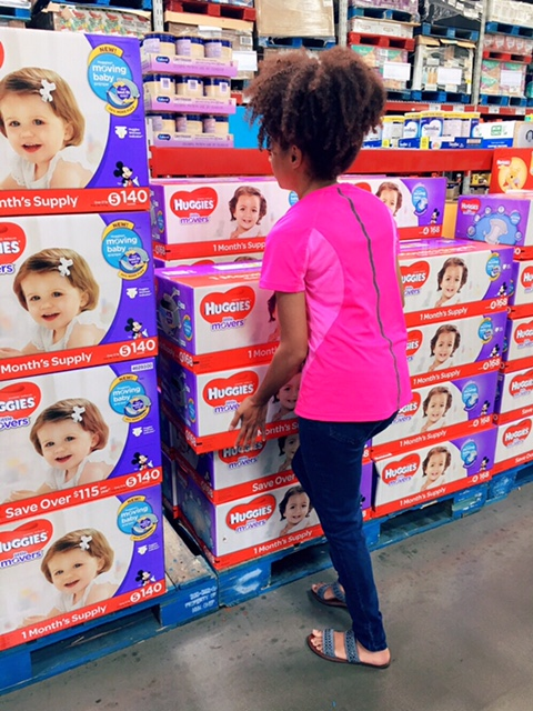 Huggies at Sam's Club