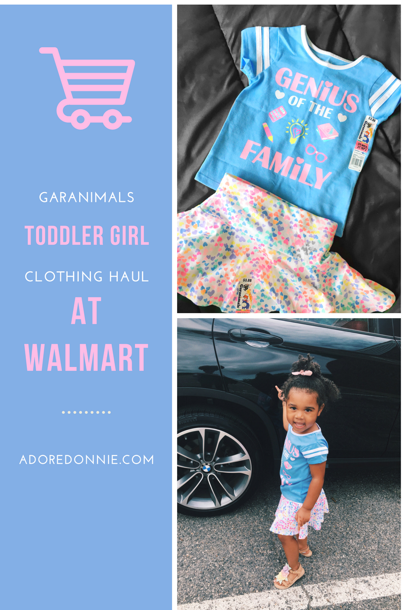 49794386c272 Garanimals Toddler Girls Clothing Haul At Walmart — Adore Donnie