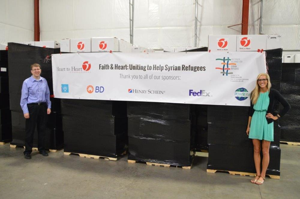 Estimated delivery will be in late October following approval from customs. Local distribution in Turkey will be provided by Orient for Human Relief.