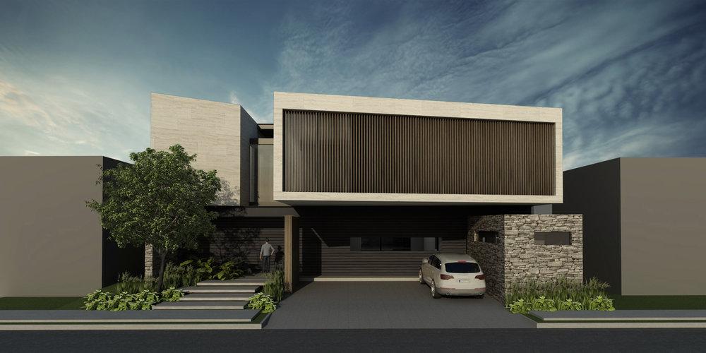 Casa XM- Fachada Frontal- Louver.jpg