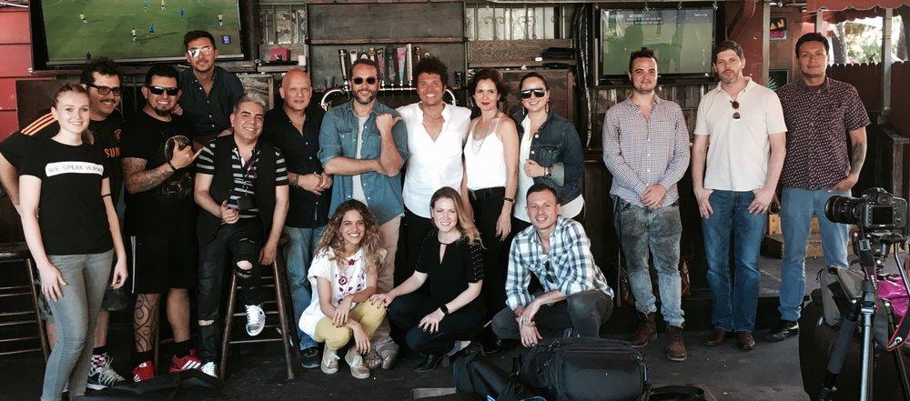 Foto del Equipo de grabación de 'Tanto' - Marzo 2017