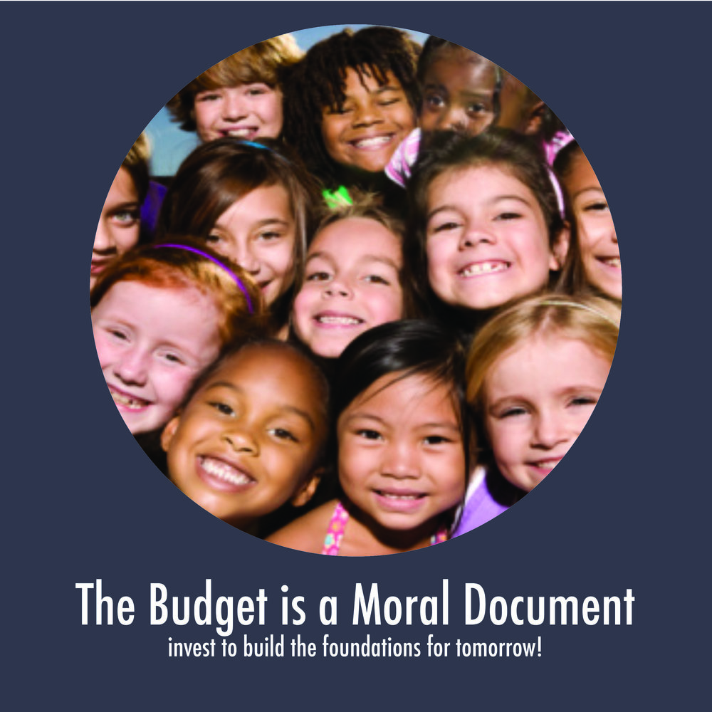 Join us for our BUDGET IS A MORAL DOCUMENT ADVOCACY DAY! -