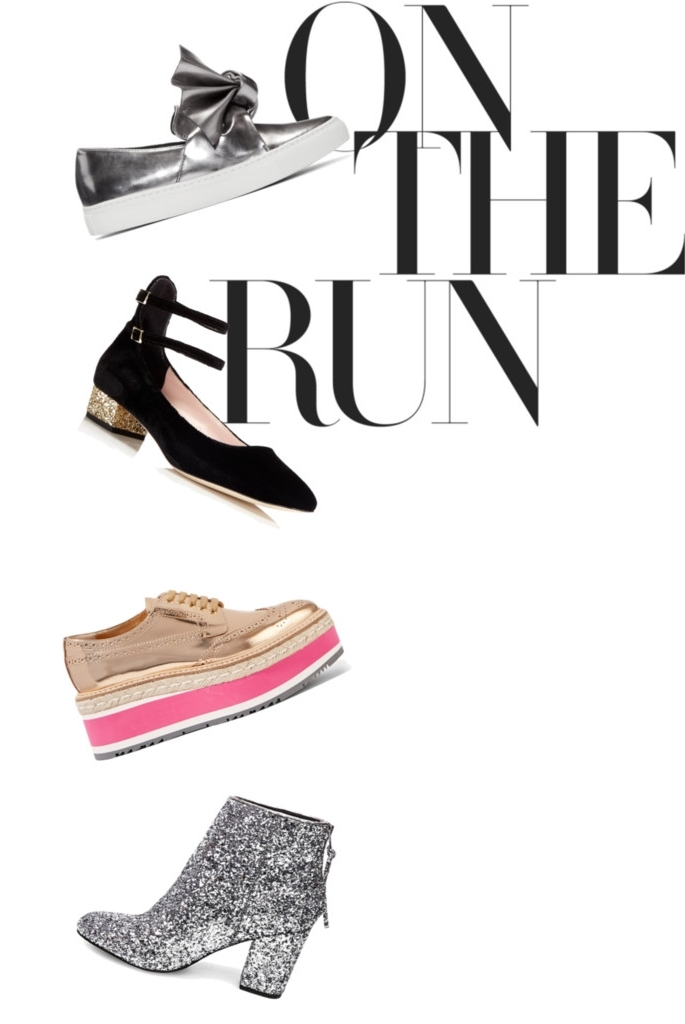 shoes by: Cedric   |   Kate Spade   |   Prada   |   Steve Madden