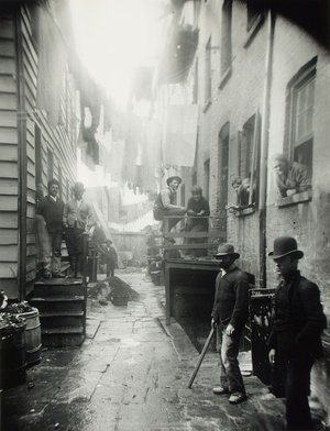 gangs of new york in context photo by jacob riis