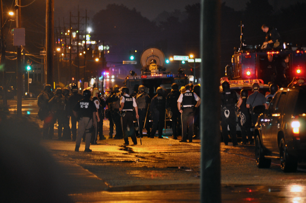 Ferguson, MO protests, 2014