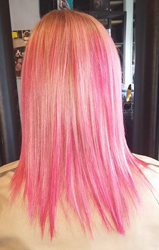 Pink Hair, by  Blackfriars Salon London ontario salons and spas