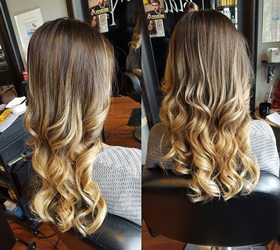 ombre hair colouring london ontario at blackfriars salon and medi spa