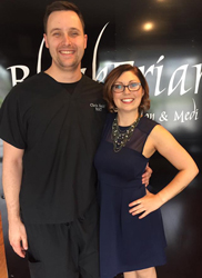 Chris registered RMT london ontario blackfriars salon and spa