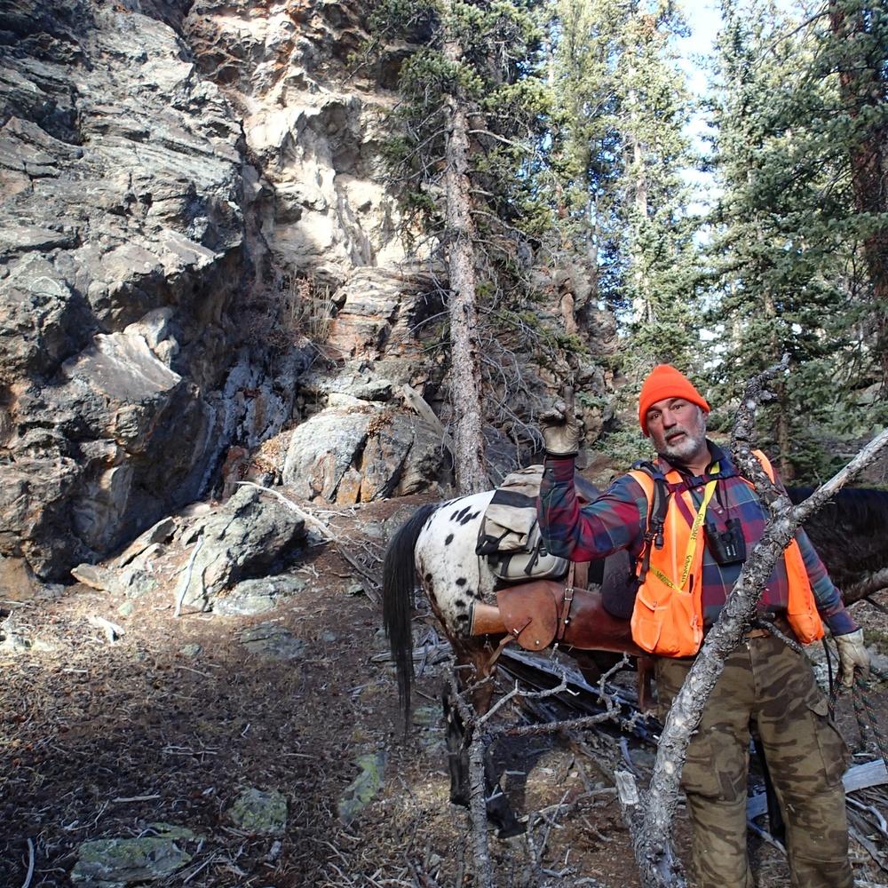 Lou & Hondo Hunting.JPG