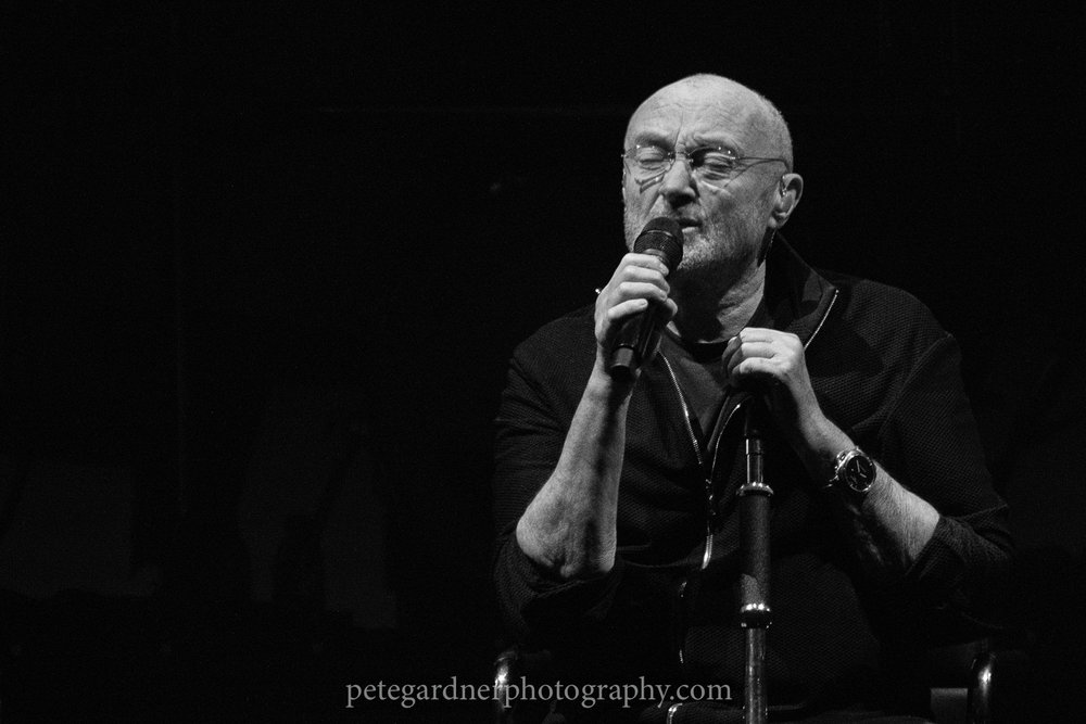Phil Collins,RAC Arena,Perth, 28-1-2019 - Gallery + Review