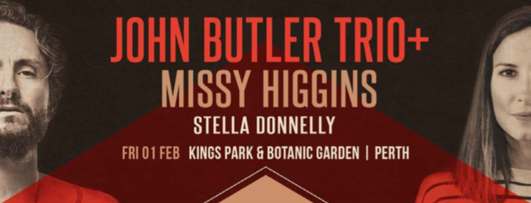 John Butler Trio + Missy Higgins, Kings Park, Perth 1-2-19 - Review