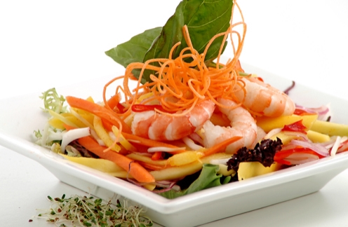 Mango Salad with Shrimp