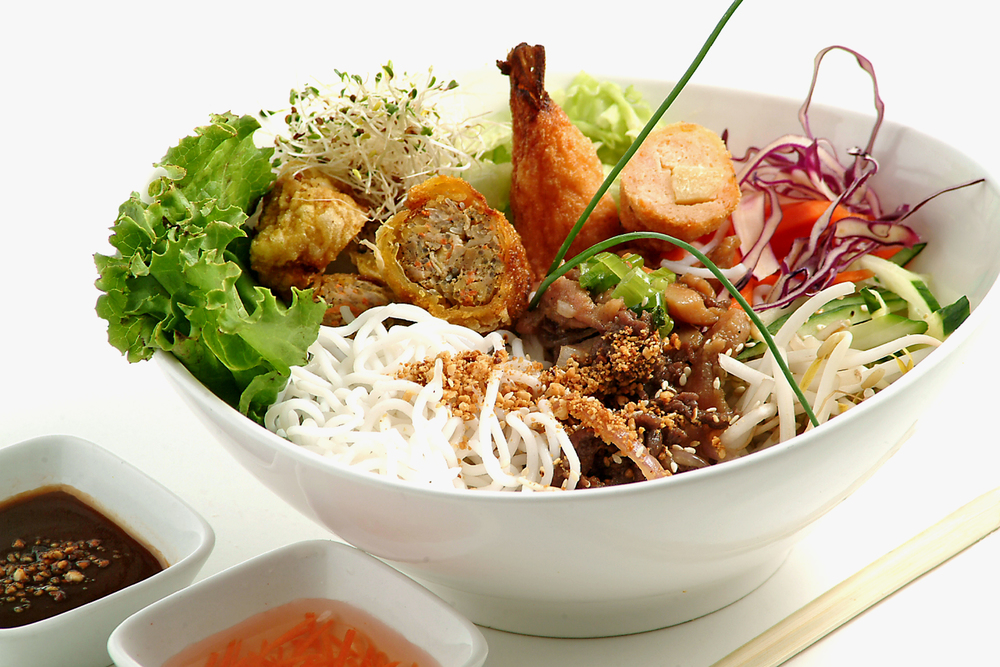 Traditional Vietnamese Bún