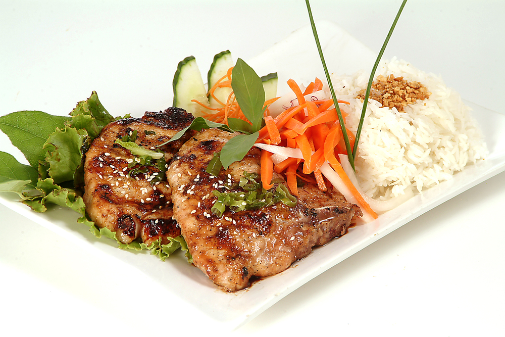 Vietnamese Pork Chops & Rice