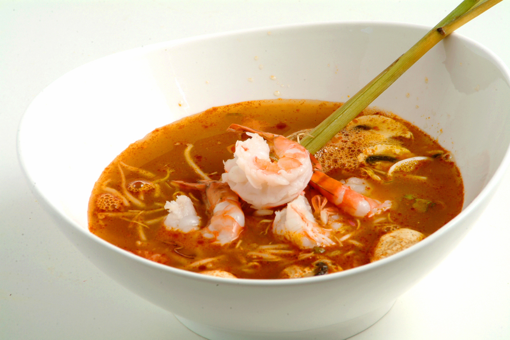 Tom Yum Shrimp Pho