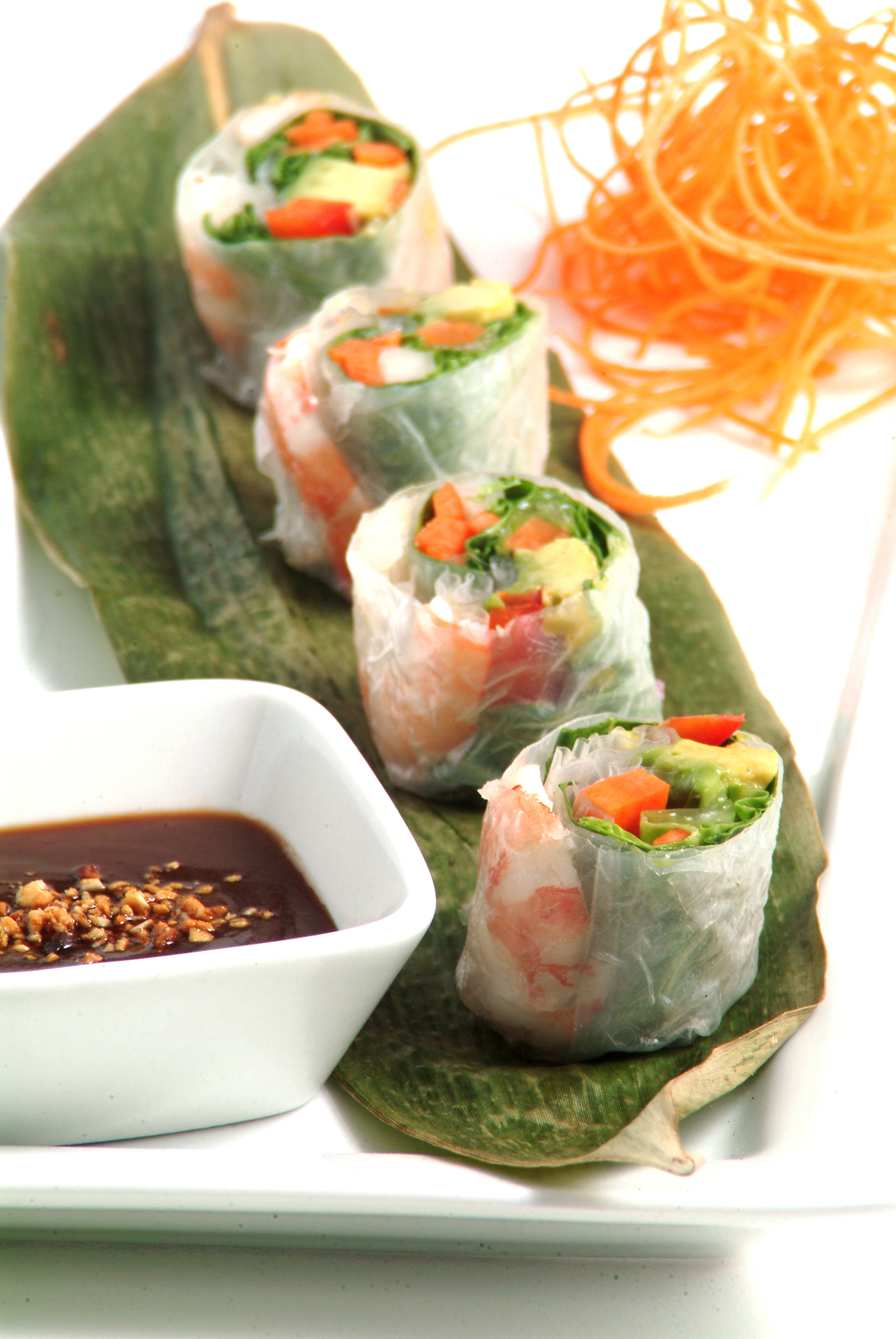 Shrimp Salad Roll