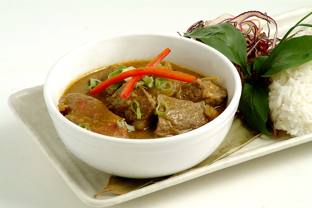 Curry Beef with Rice