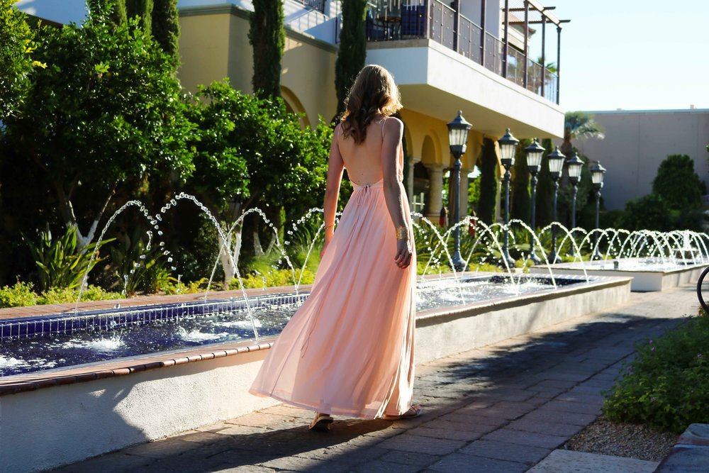Pink-Floor-Length-Dress-ASOS