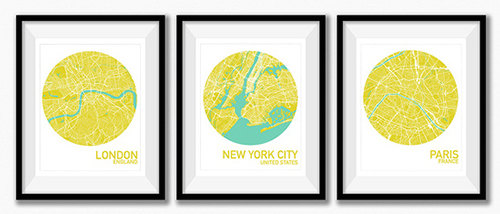 london-paris-new-york-maps-art-prints-in-a-frame