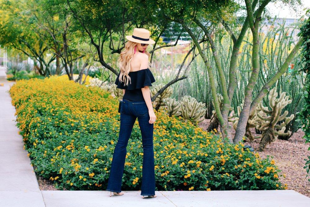 Leith-top-Nordstrom-frame-flare-jeans-boater-hat-2.jpg