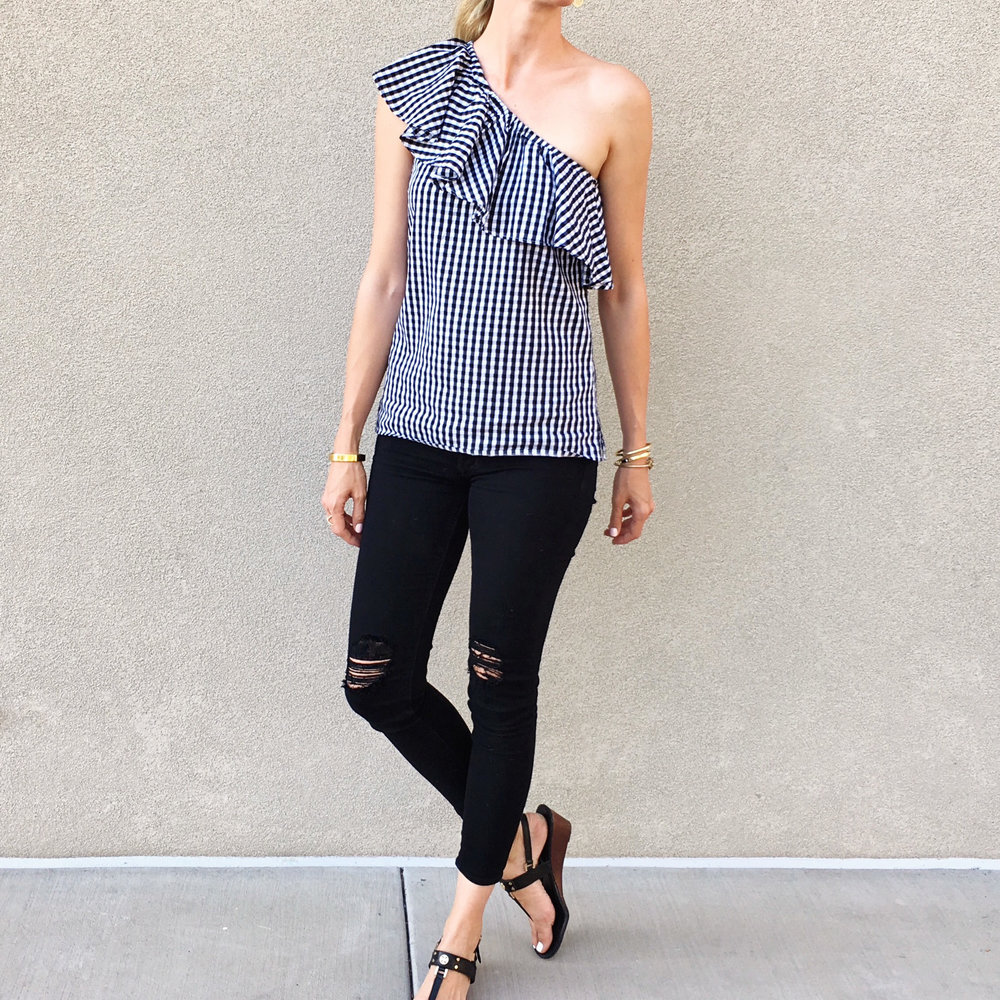 warehouse-gingham-one-shoulder-top-black-ripped-hudson-jean.jpg