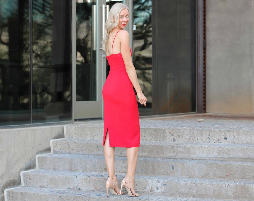 cushnie-et-ochs-red-Karina-dress-weitzman-nude-heels.jpg