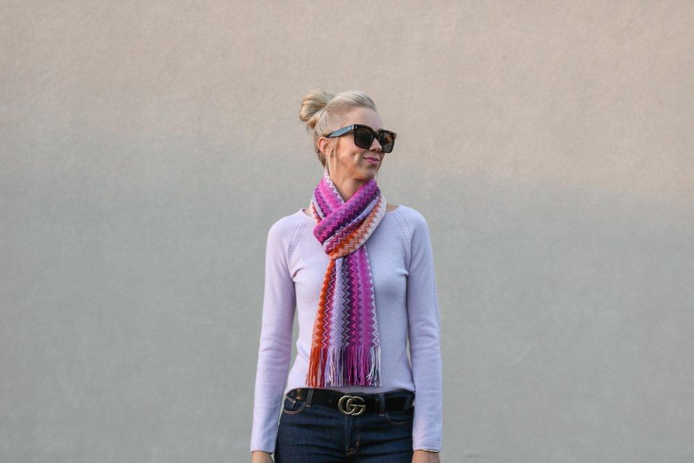 missoni-chevron-scarf-purple-cashmere-sweater-gucci-belt-street-style-fashion.jpg