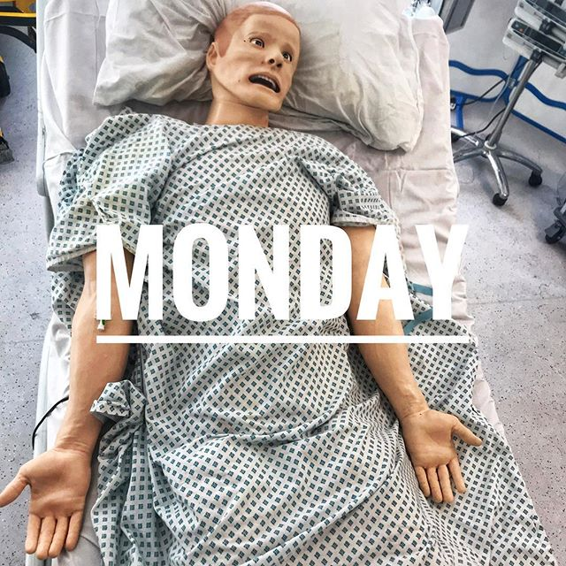 Happy #monday!  #resuscitate #emergencymedicine #training