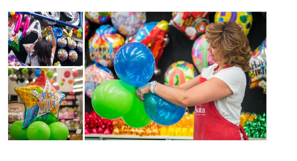 custom balloon decor