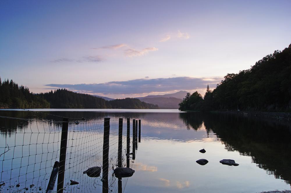 Loch Ard.  Aberfoyle, Scotland