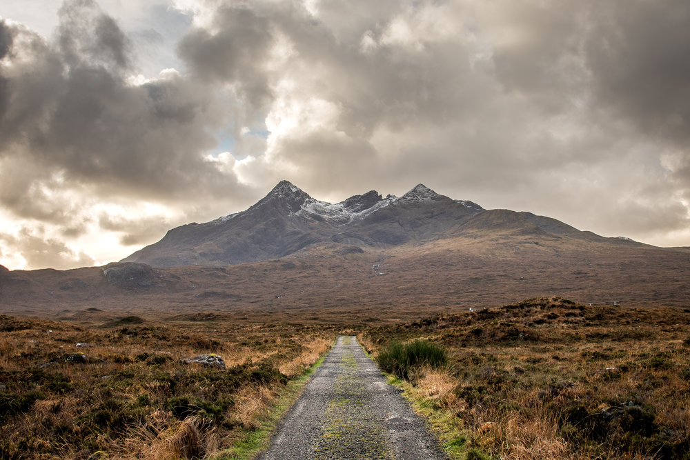 The Cuillin.   Isle of Skye, Scotland