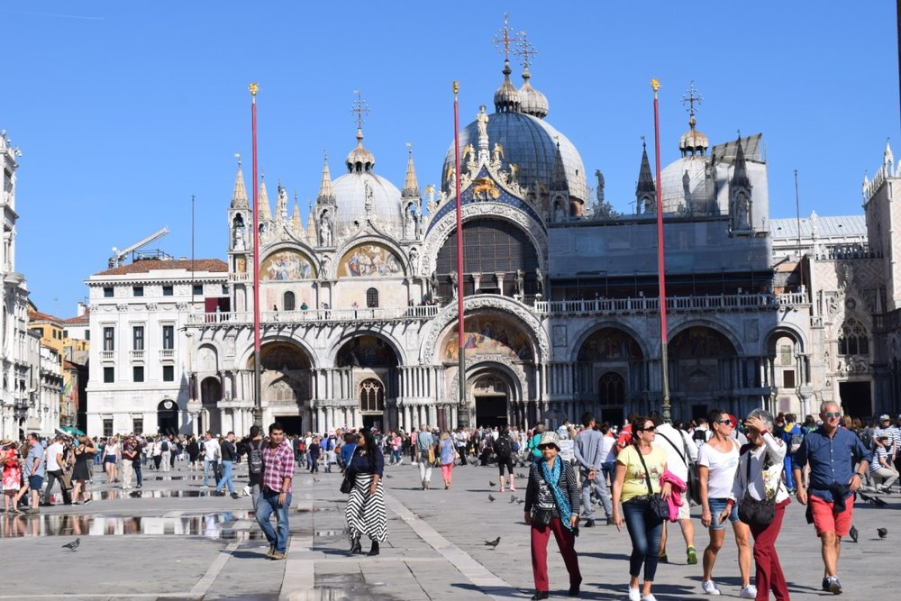 Piazza San Marco during the day