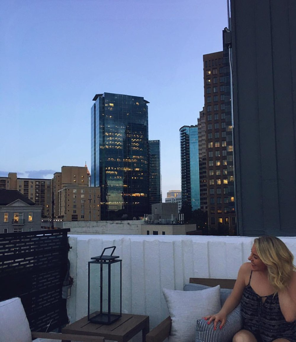 Pool Deck at the W Midtown
