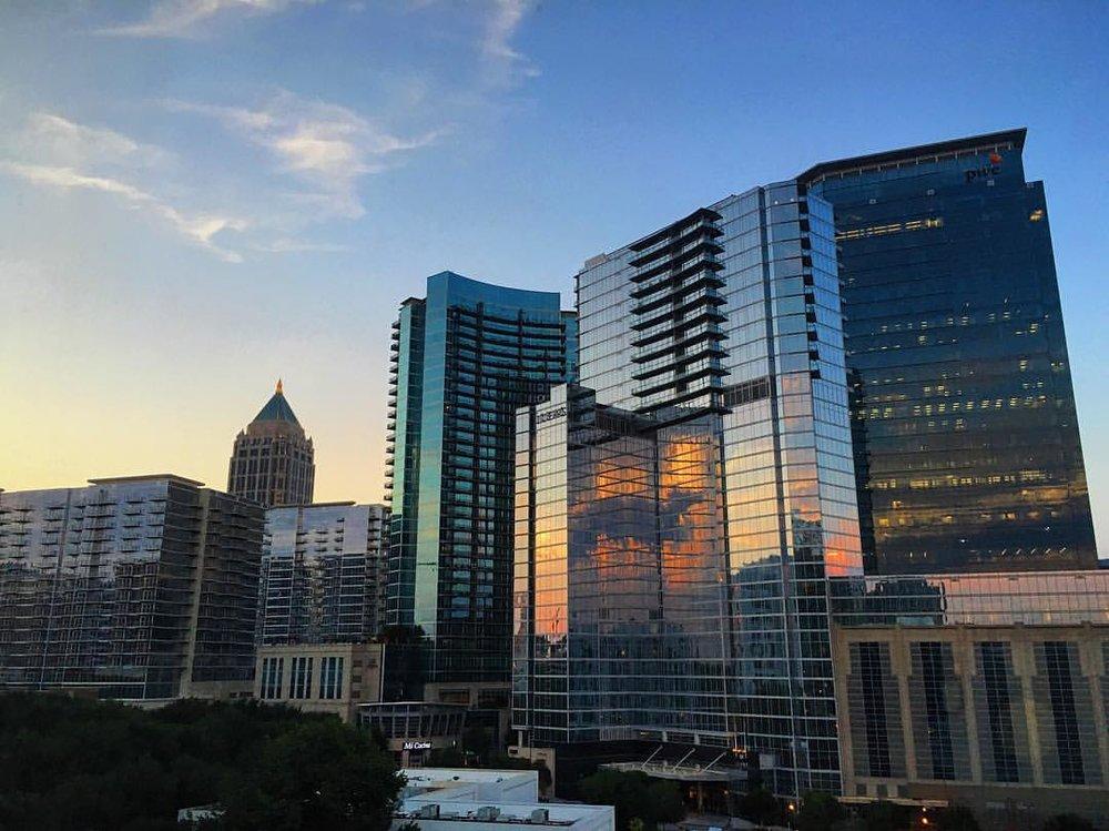 View from the Hyatt Atlanta Midtown