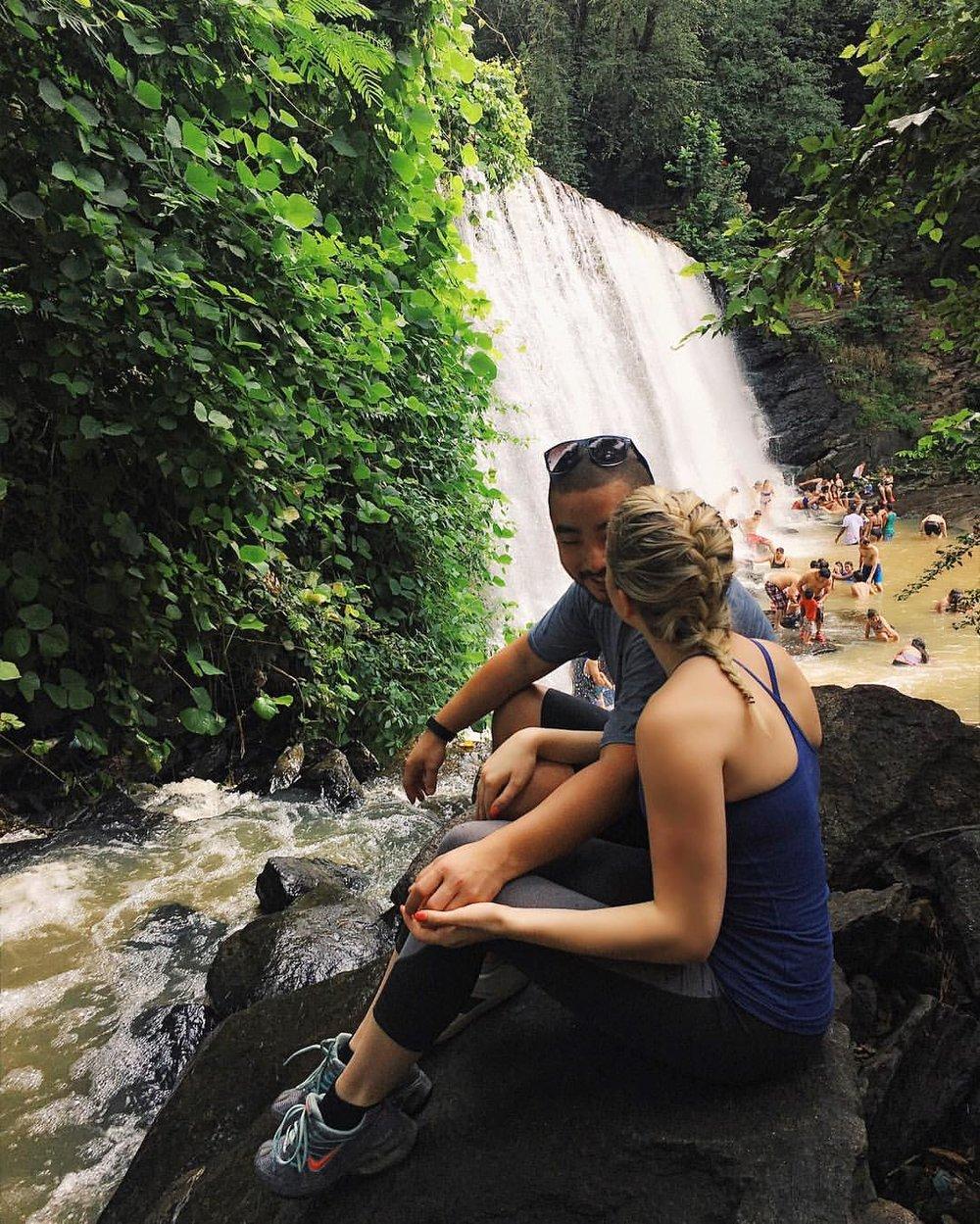 Vickery Creek Falls at Roswell Mill