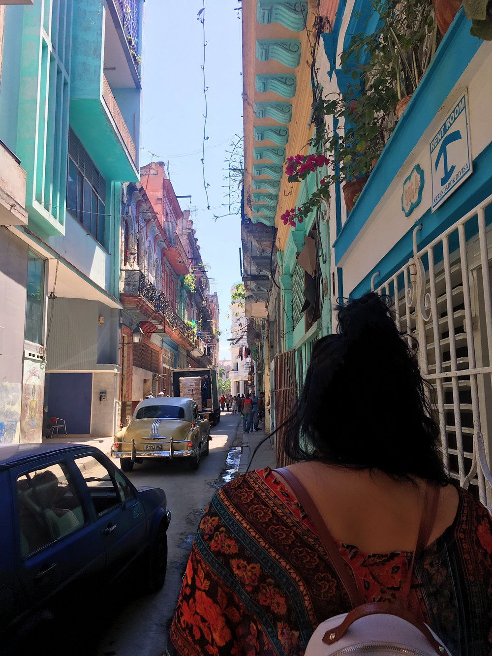 Wandering the streets of Old Havana