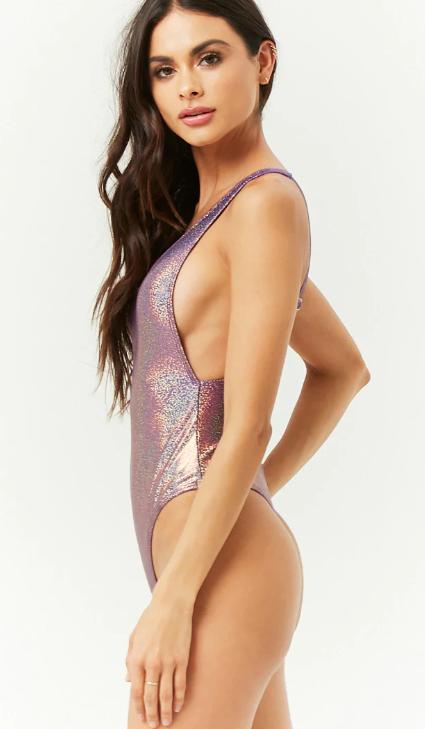 metallic swimsuit f21.PNG