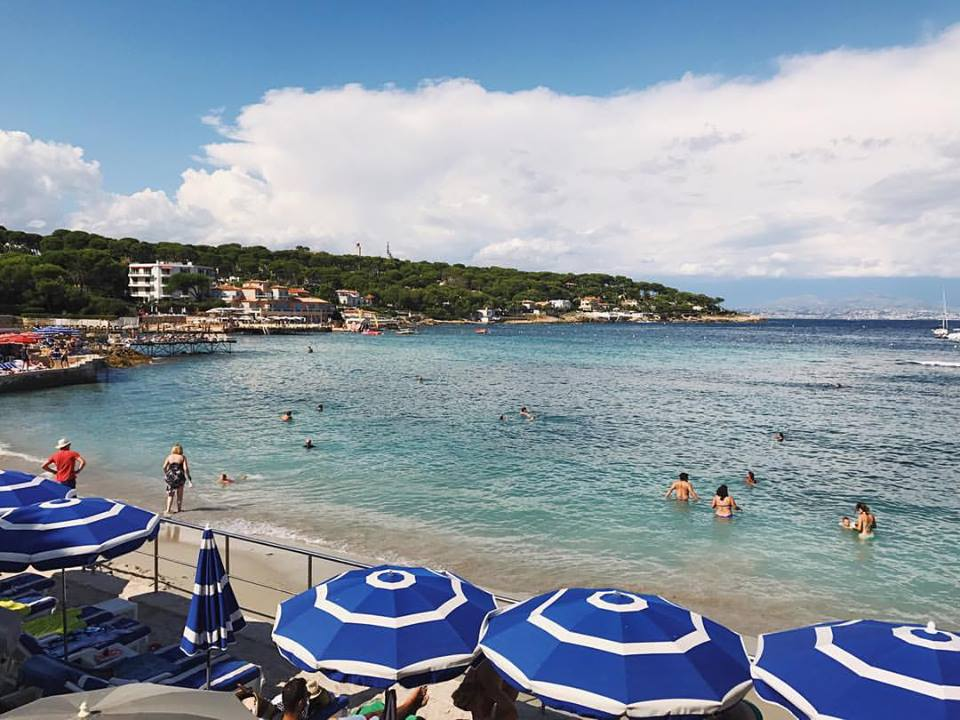 The beaches of Antibes