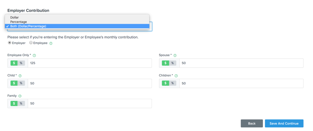 Flock Product Representation for a combined $-% contributions