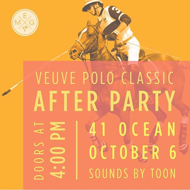 Don't forget to make your reservations at #41ocean this Saturday for our annual Vueve Polo Classic after-party 🍾🍾🍾 Table resos 📧 reservations@41ocean.com . . . #41ocean#LosAngeles#SantaMonica #weekend#friendship#Santamonicapier#partywithme#goodvibes #cheers#party #instafun#dancing #girlsnight #rosé #saturday#champagne#vueveclicquot#polo