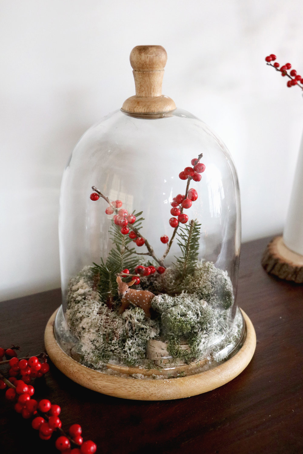 Make your own winter scene globe | root + dwell