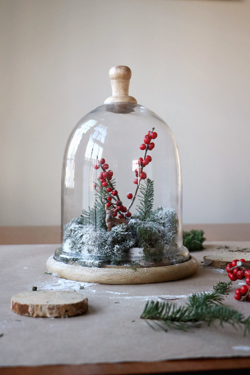 How to create a winter scene globe | root + dwell