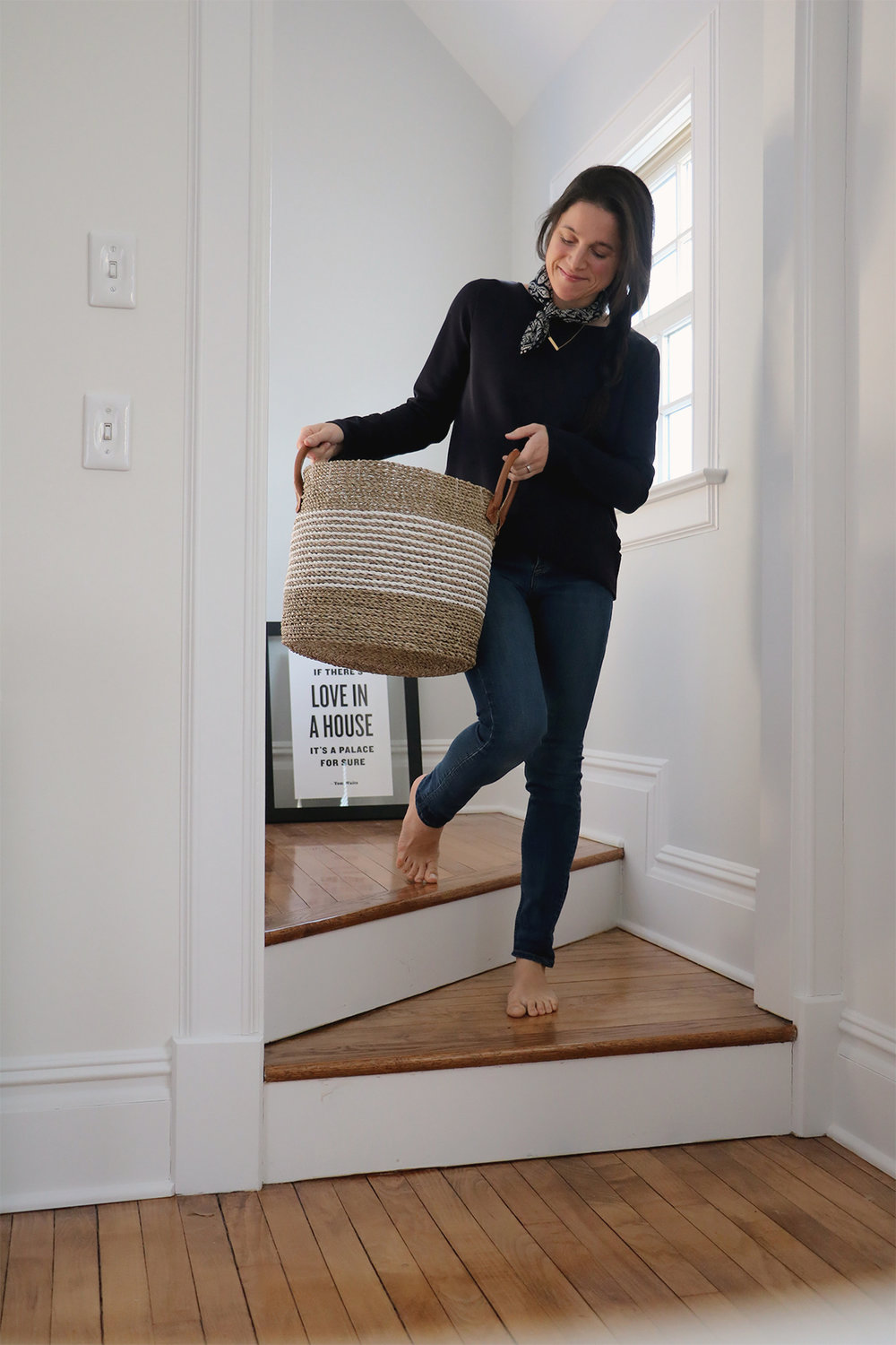"basket love"" 4 ways to style them in the home 